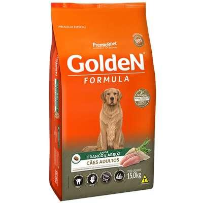 Alimento Seco PremieR Pet Golden Formula Cães Adultos Frango e Arroz