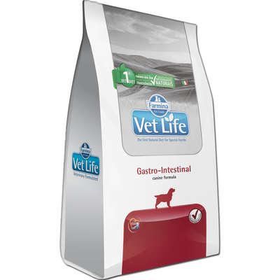 Alimento Seco Vet Life Natural Gastro-Intestinal para Cães Adultos com Distúrbios Intestinais -Farmina