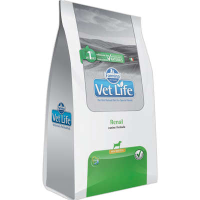 Alimento Seco Vet Life Natural Renal para Cães Mini -Farmina