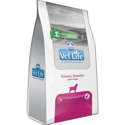 Alimento Seco Vet Life Natural Urinary Struvite para Cães Adultos com Distúrbios Urinários -Farmina