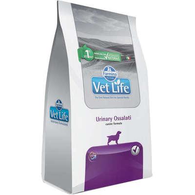 Alimento Seco Vet Life Urinary Ossalati para Cães Adultos com Cálculos Urinários -Farmina
