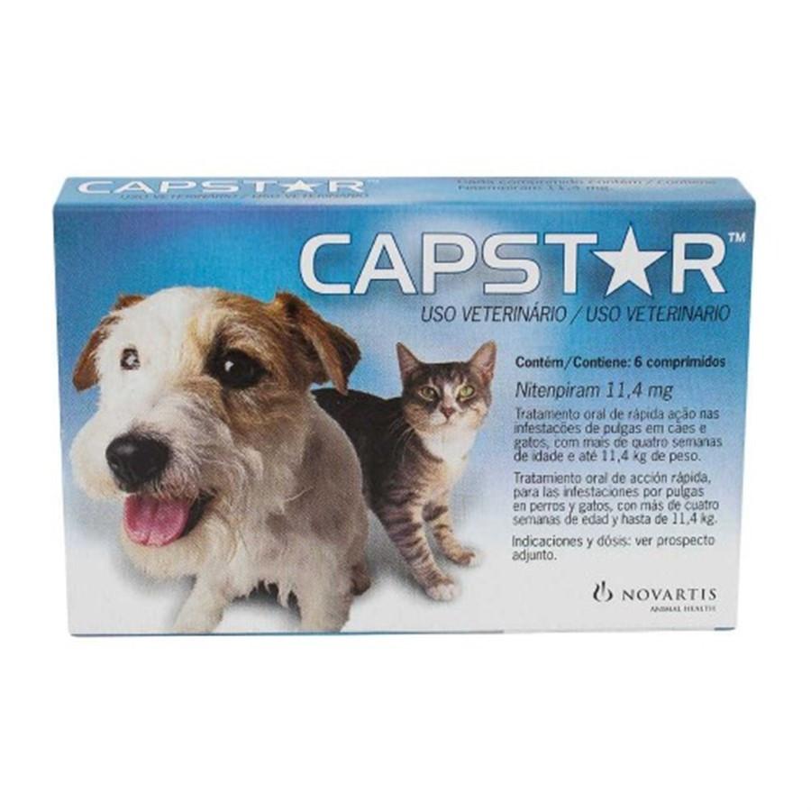 Antipulgas Capstar 11mg para Cães e Gatos de até 11kg -Elanco