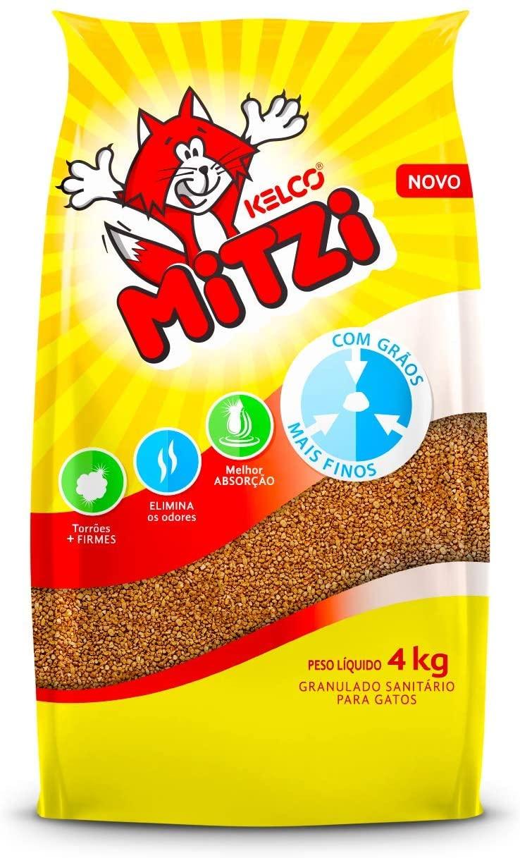 Areia Sanitária Super Mitzi 4kg -Kelco