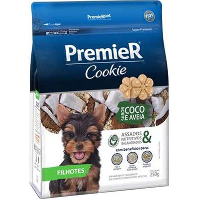 Cookie Coco e Aveia para Cães Filhotes 250g -Premier Pet