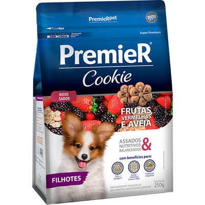 Cookie Frutas Vermelhas e Aveia para Cães Filhotes 250g -Premier Pet