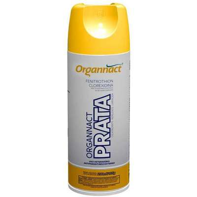 Clique para visualizar o vídeo  Antibacteriano Organnact Prata em Spray