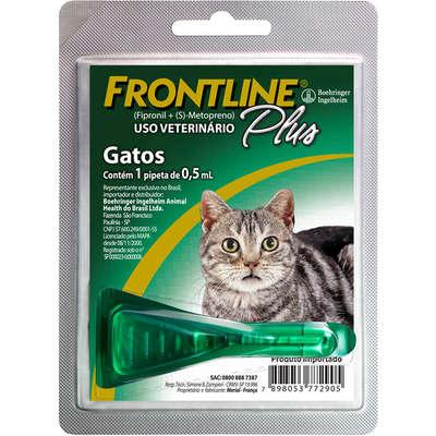 Frontline Plus para Gatos - Antipulgas e Carrapatos