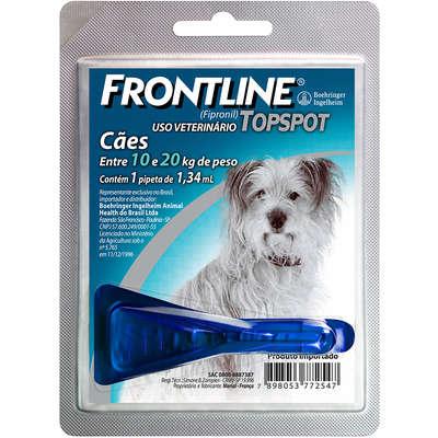 Frontline Top Spot para Cães de 10 a 20 Kg - Antipulgas e Carrapatos