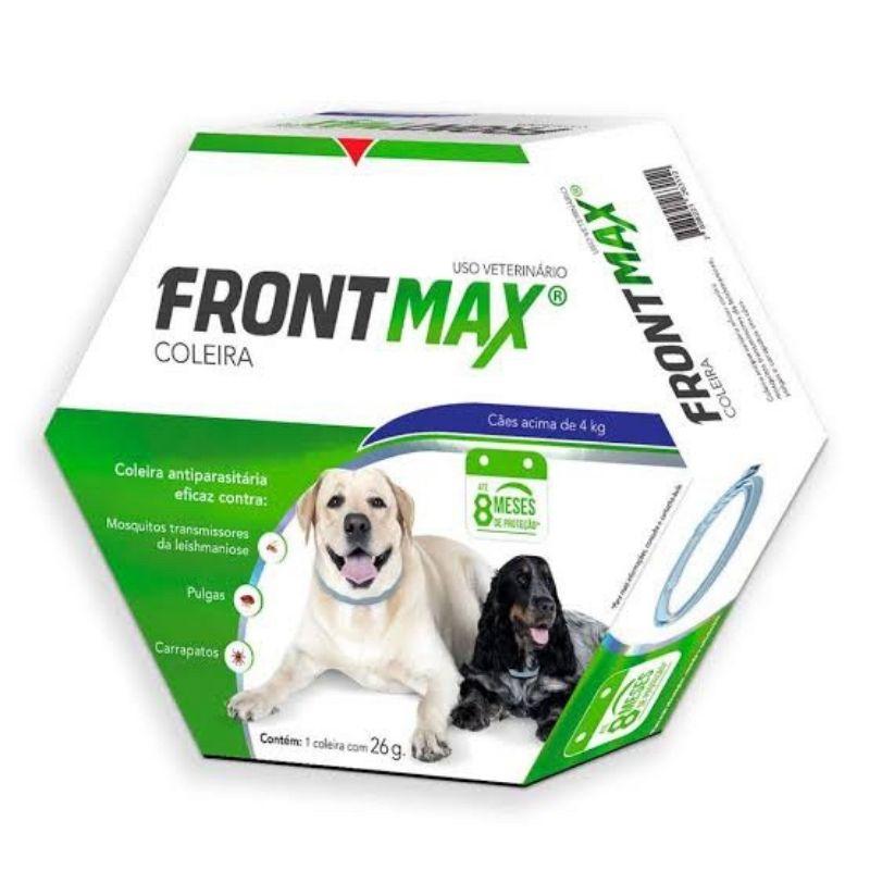 Frontmax Coleira Antiparasitária Vetoquinol para Cães Acima de 4 Kg