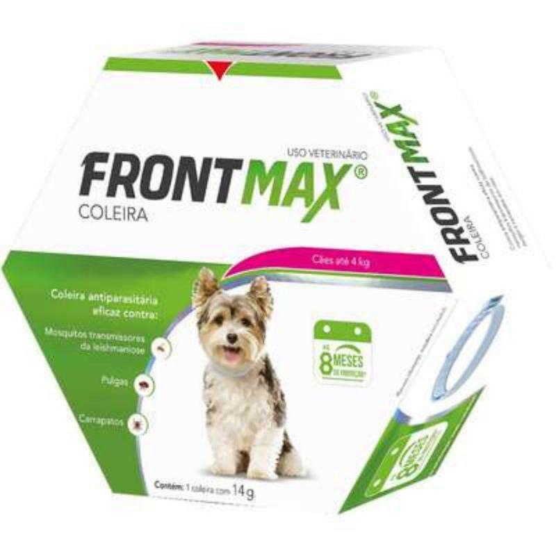 Frontmax Coleira Antiparasitária Vetoquinol para Cães até 4 Kg