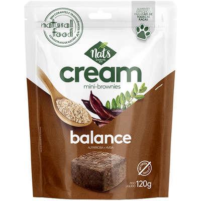 Mini-Brownies  Cream Balance para Cães 120g -Nats