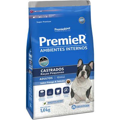 Alimento seco para cães castrados em ambiente Interno -Premier Pet