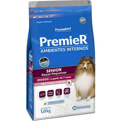 Alimento seco para  Cães Sênior em Ambientes Internos -Premier Pet