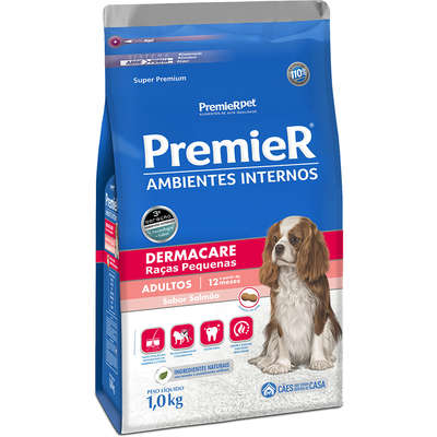 Alimento seco para Ambientes Internos Dermacare -Premier pet