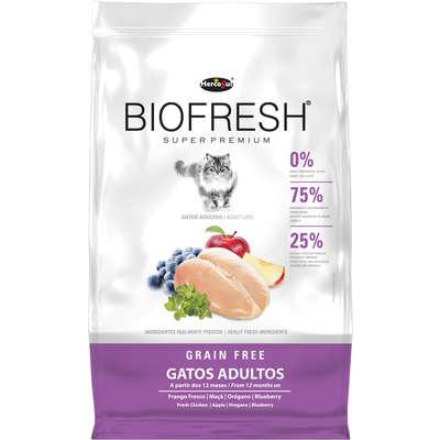 Alimento seco Biofresh Mix de Carne, Frutas, Legumes e Ervas Frescas Cães Adultos de Raças Pequenas e Minis -Hercosul