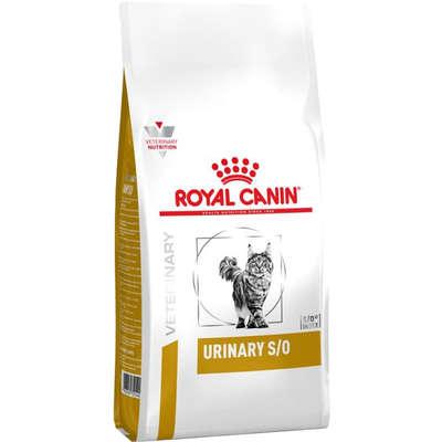 Alimento seco Feline Veterinary Diet Urinary S/O para Gatos com Cálculos Urinários -Royal Canin