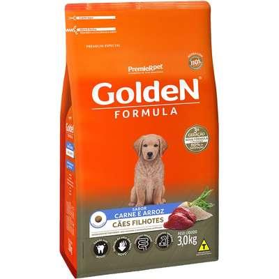 Alimento Seco Golden Formula Cães Filhotes Carne e Arroz -Premier Pet