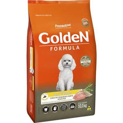 Alimento Seco Golden Formula Peru & Arroz para Cães Adultos de Pequeno Porte -Premier Pet