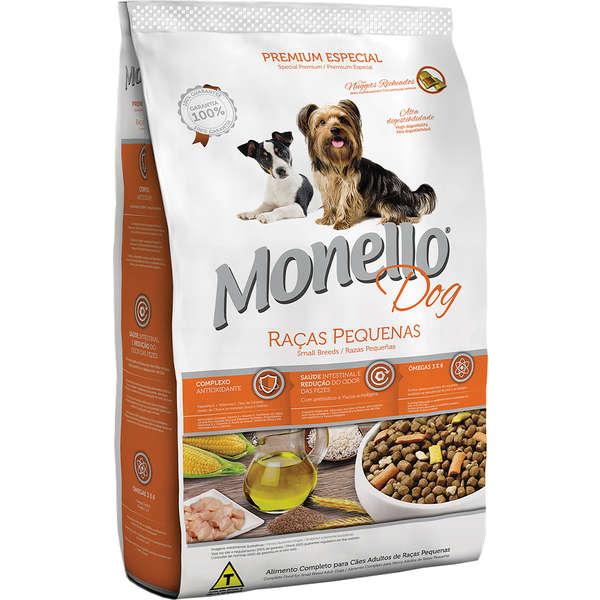 Alimento seco para Cães Adultos - Raças Pequenas - Monello Dog - Nutrire