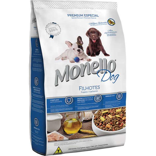 Alimento seco para Cães Filhotes em Crescimento Monello Dog - Nutrire