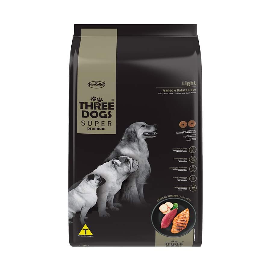 Alimento seco para Cães - Todas Raças - Super Premium - Light - Frango e Batata Doce
