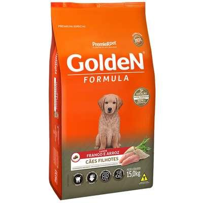 Ração Premier Golden Formula Cães Filhotes Frango e Arroz 15kg