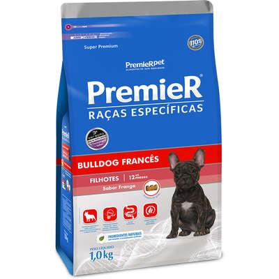 Alimento seco Raças Específicas Bulldog Francês para Cães Filhotes -Premier Pet