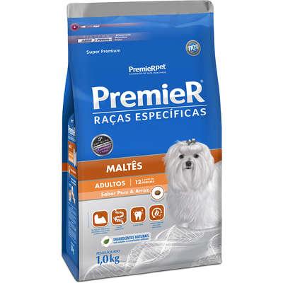 Alimento Seco para Raças Específicas Maltês Adulto -Premier Pet