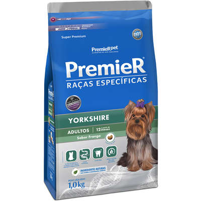 Alimento para Raças Específicas Yorkshire Adulto -Premier Pet