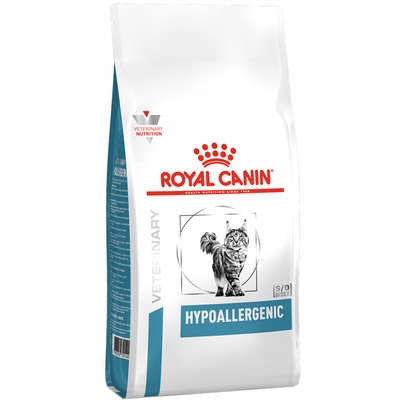 Ração Royal Canin Feline Veterinary Diet Hypoallergenic para Gatos com Alergia Alimentar