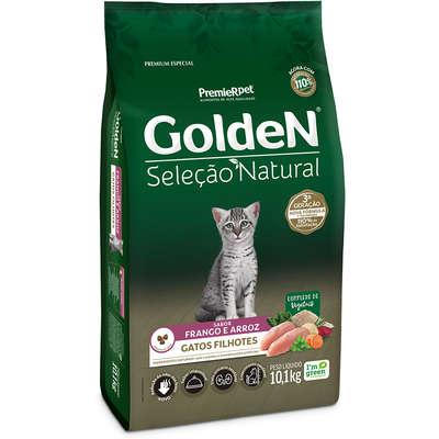 Alimento Seco Golden Seleção Natural para Gatos Filhotes -PremieR Pet