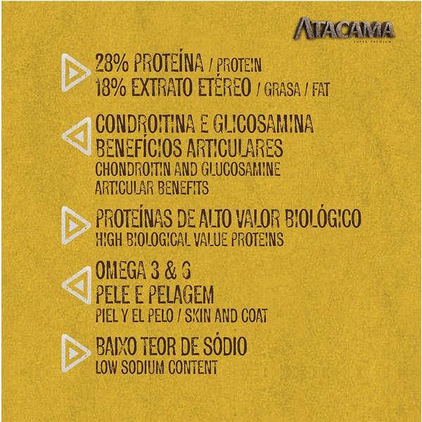 Alimento seco para Cães Adultos - Todas as Raças Atacama (14kg) - Supra