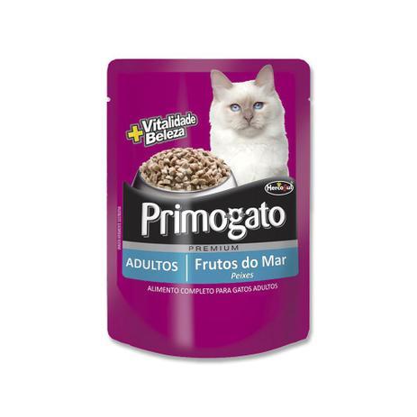 Alimento Úmido Premium Primogato Frutos do Mar- Hercosul