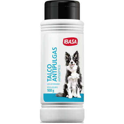 Talco Ibasa Antipulgas Ibapet para Cães