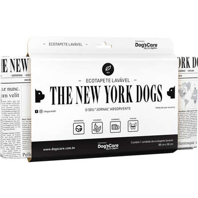 Tapete Higiênico Lavável Dog's Care The New York Dogs