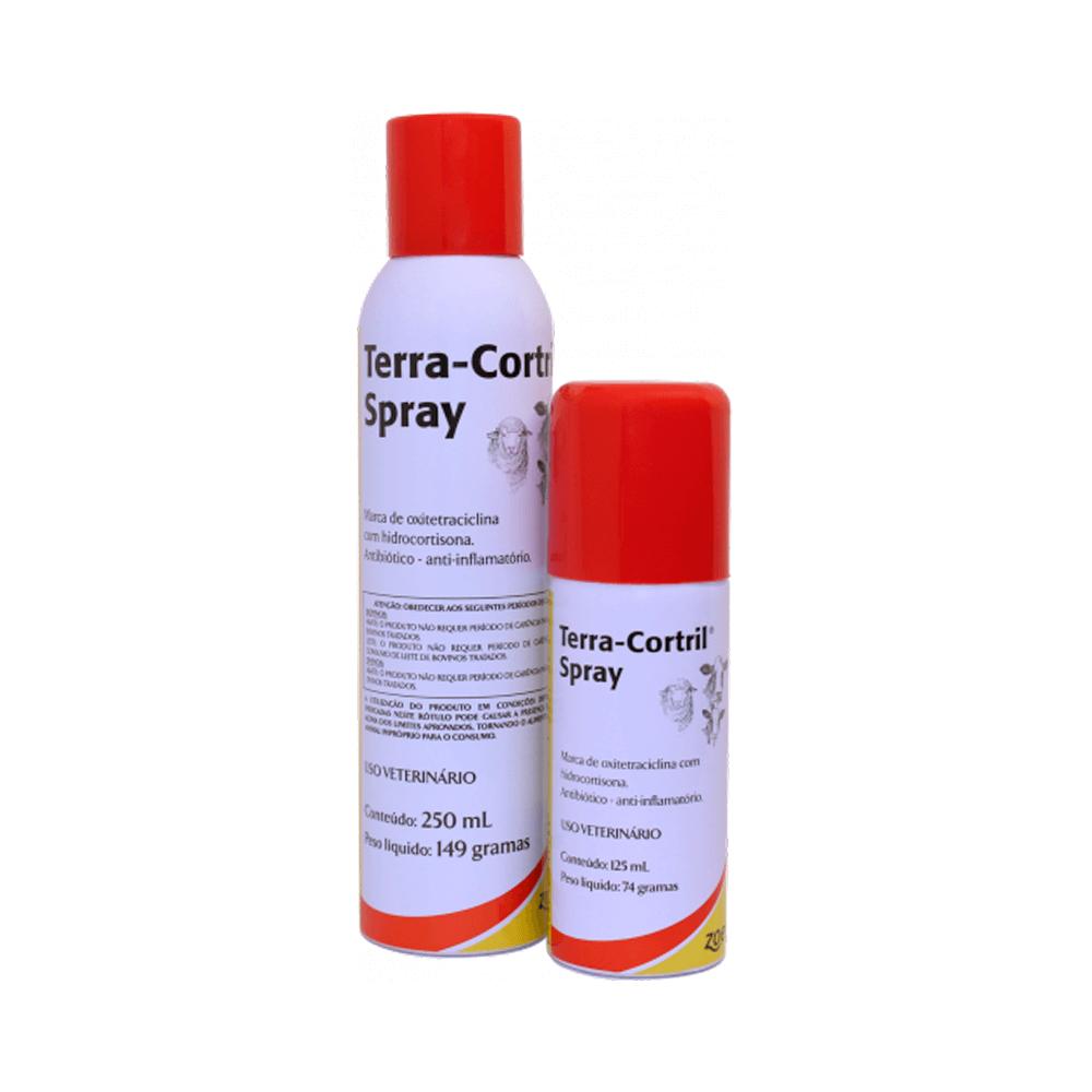Terra-Cortril Spray Antibiótico e Anti-Inflamatório- Zoetis