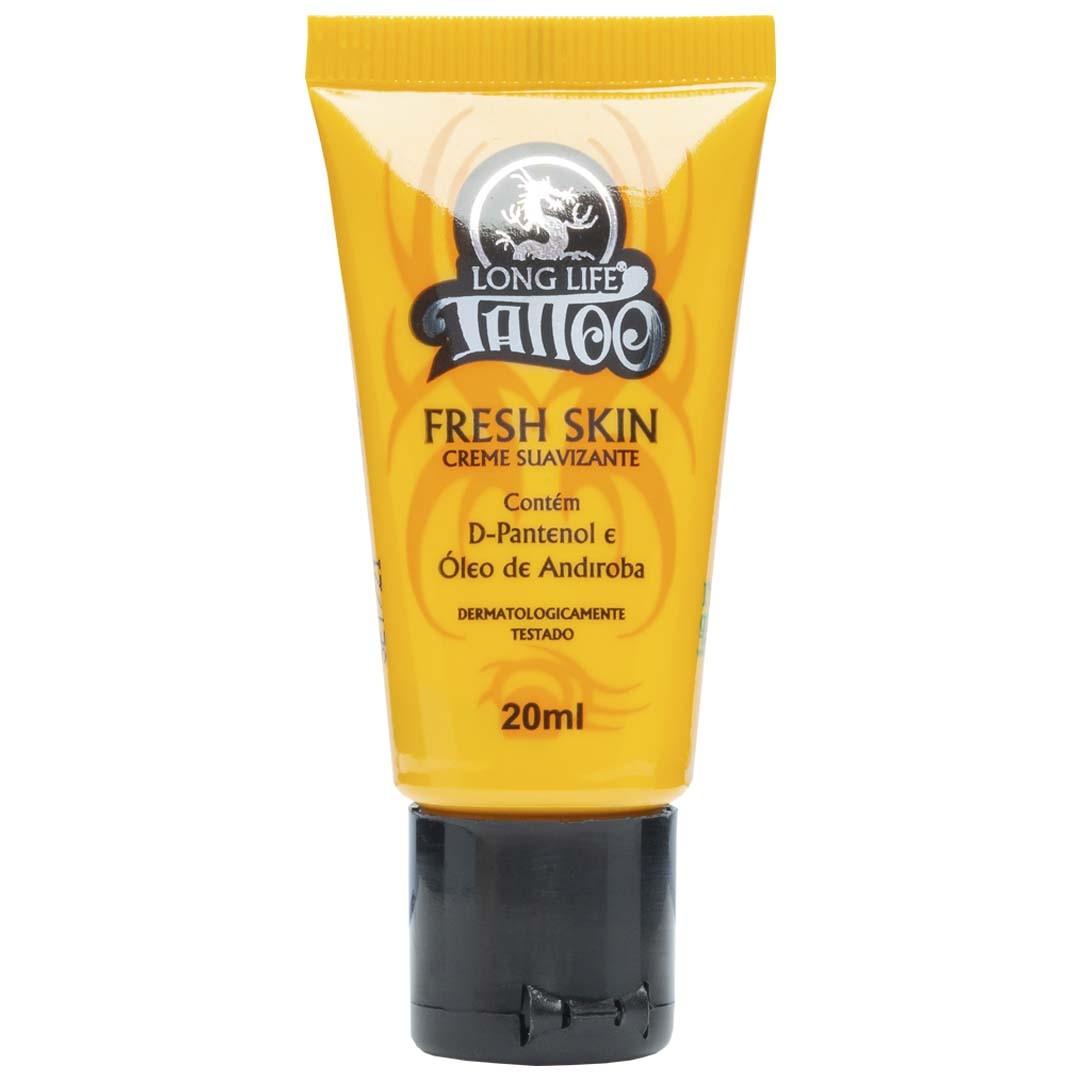 Pomada para Tatuagem - Creme Suavizante Fresh Skin - 20 ml