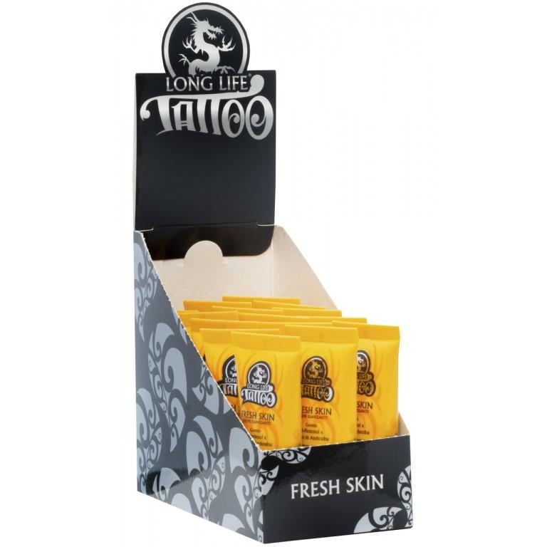 Pomada Tatuagem - Creme Suavizante Fresh Skin - 20 ml - Caixa com 15 unidades
