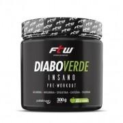 Diabo Verde Pré-Treino FTW Sabor Maçã Verde 300 g