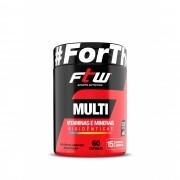 Multi Vitaminas e Minerais FTW 60 Capsulas