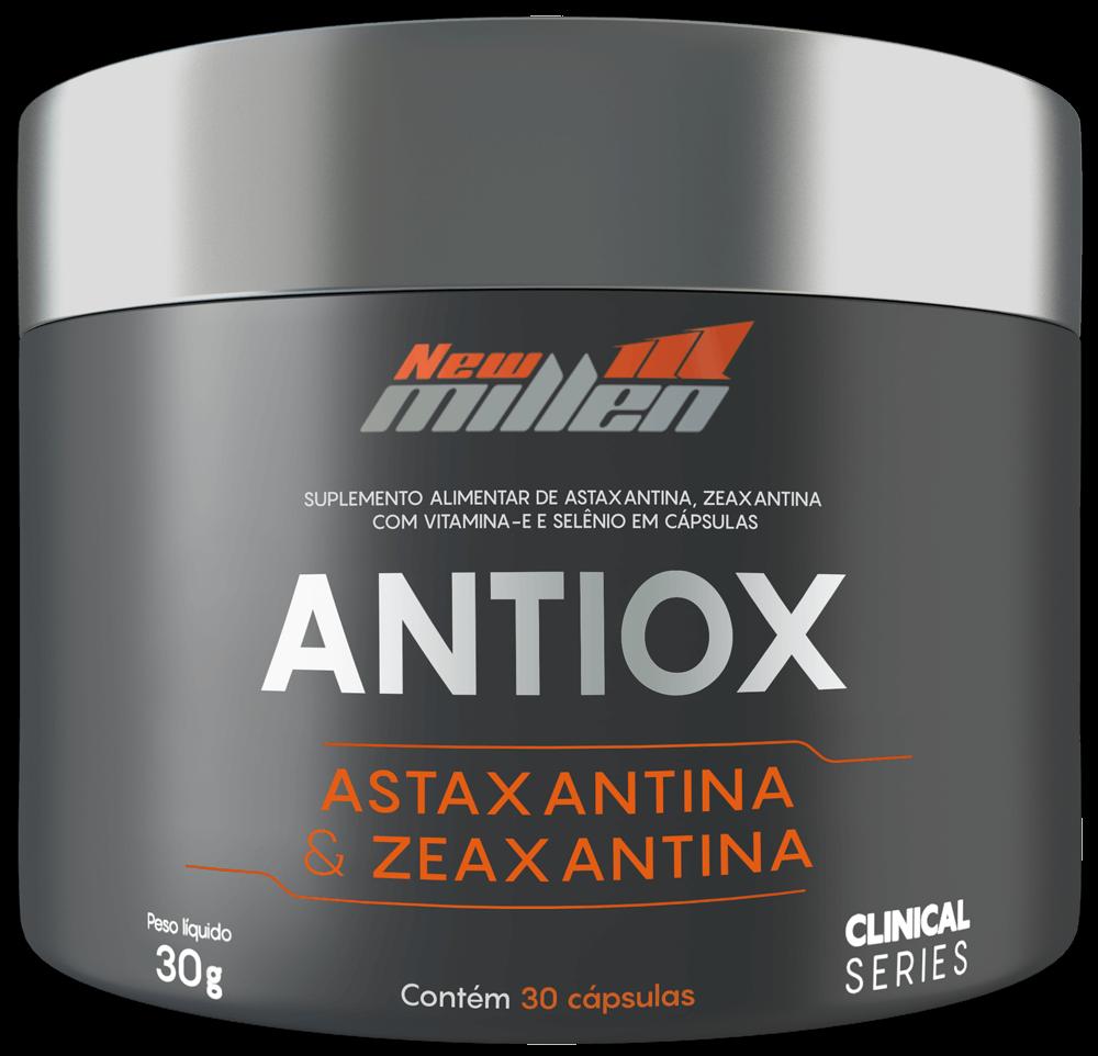 Antiox New Millen 30 Caps - VENCIMENTO MAIO/21 - SEM TROCA