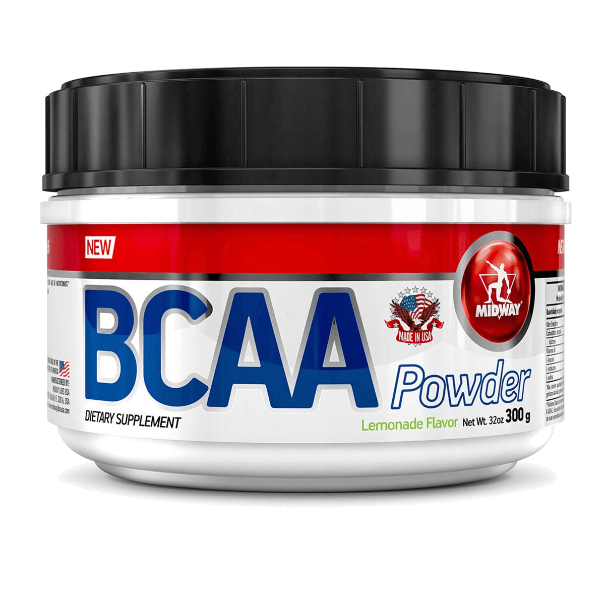BCAA Powder Lemonade Flavor Midway 300g
