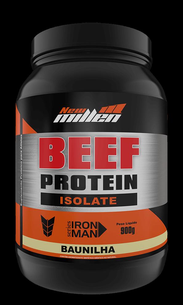 Beef Protein Isolate New Millen Sabor Baunilha 907 g