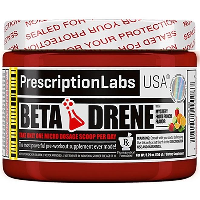 Beta Drene 150G Pre Treino Prescription Labs - VENCIMENTO JULHO/21 - SEM TROCA