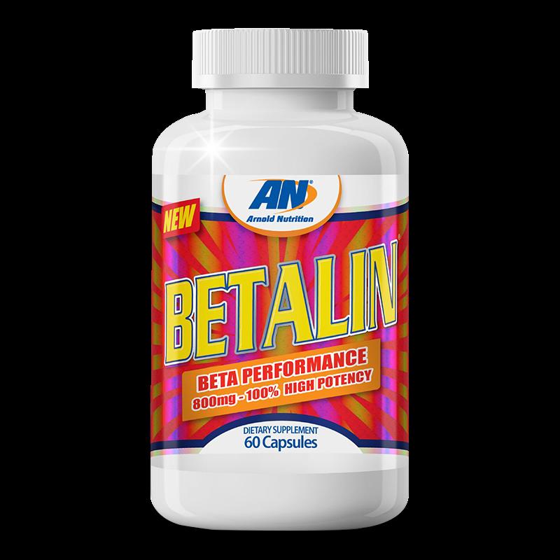 Betalin 60 Caps Arnold Nutrition - VENCIMENTO JULHO/21 - SEM TROCA