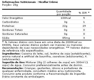 Caseína Micellar Syntrax Sabor Vanilla Milkshake 907 g