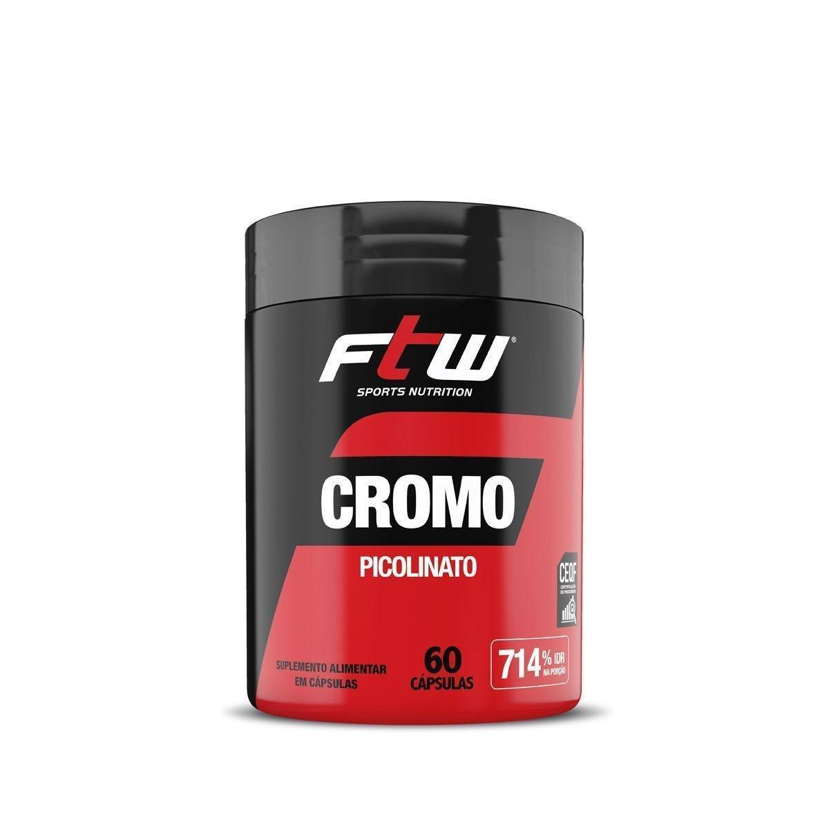 Cromo Picolinato FTW 60 Capsulas