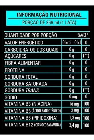 Energético Life Strong 269 ml Sabor Maçã Verde
