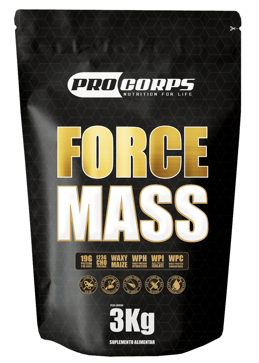 Force Mass Sabor Banana com Canela