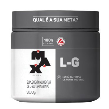 Glutamina L-G Max Titanium 300 g